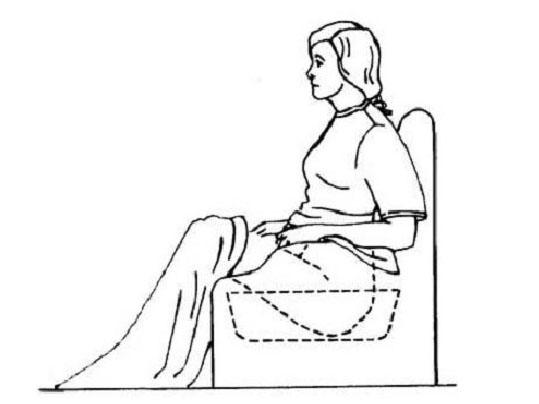 В какой позе и как делать ванночки при геморрое
