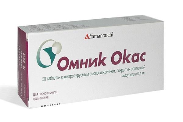 Мед. препараты от простатита