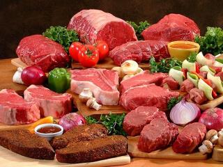 Мужская диета включает мясо