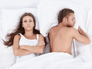 Потеря сексуального влечения к мужу