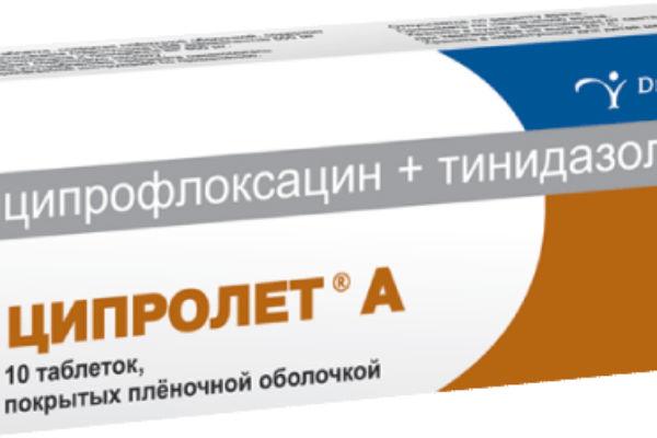 ципролет для простатита