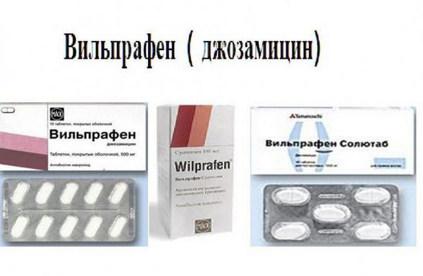 Инструкция по применению Вильпрафен Солютаба