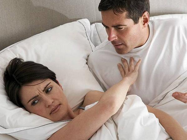 Фригидность - частая корень расторжения браков