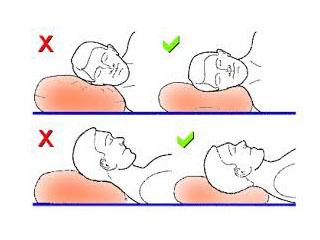 Как спать при шейном остеохондрозе правильно, какую подушку ...