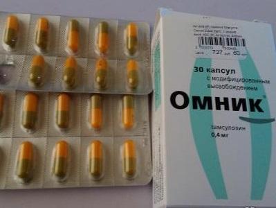 Лекарство Омник: капсулы