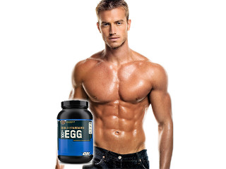 Мужчина и протеин