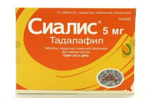 Препарат Тадалафил 0 мг