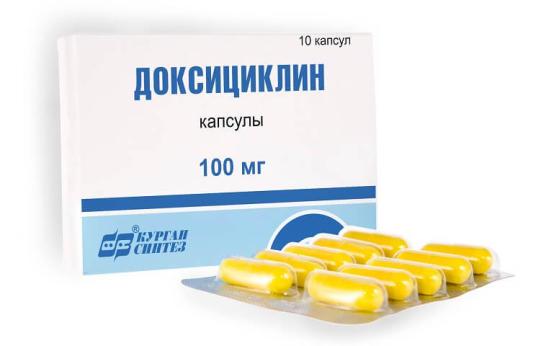 Антибиотик Доксициклин: описание лекарственного средства
