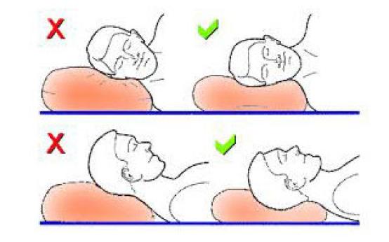 Как спать при шейном остеохондрозе и не мучиться от боли