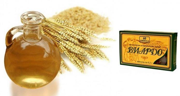 Масло и ростки пшеницы